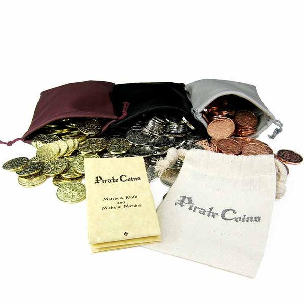 600 Pirate Coins Game Pack