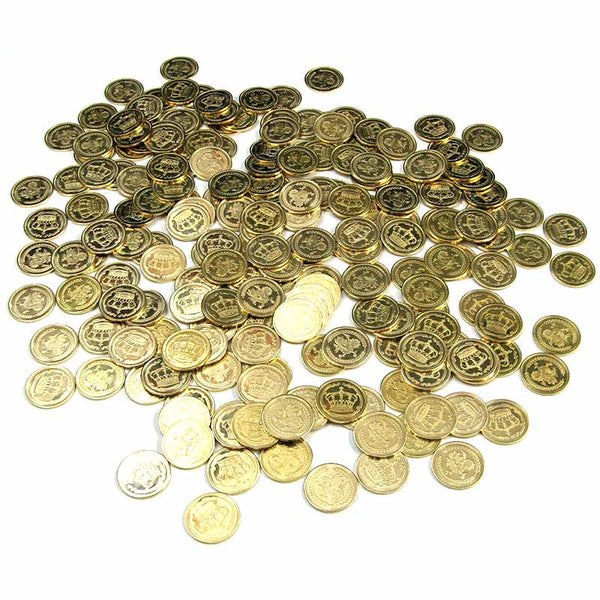 Gold Realm Coins in Varying Quantities