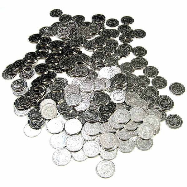 Silver Realm Coins in Varying Quantities