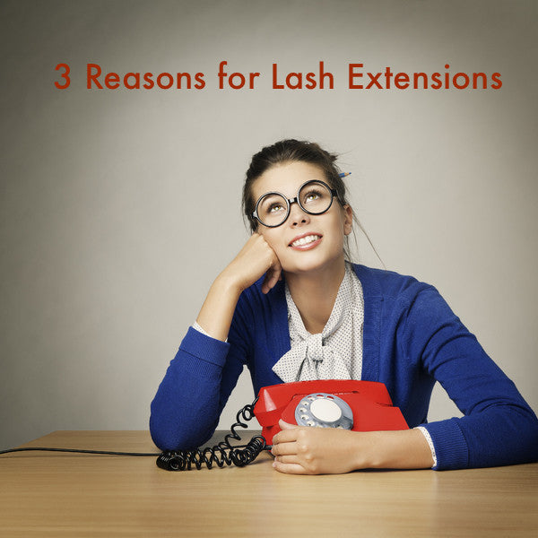 3 REASONS WHY YOU SHOULD CHOOSE EYELASH EXTENSIONS