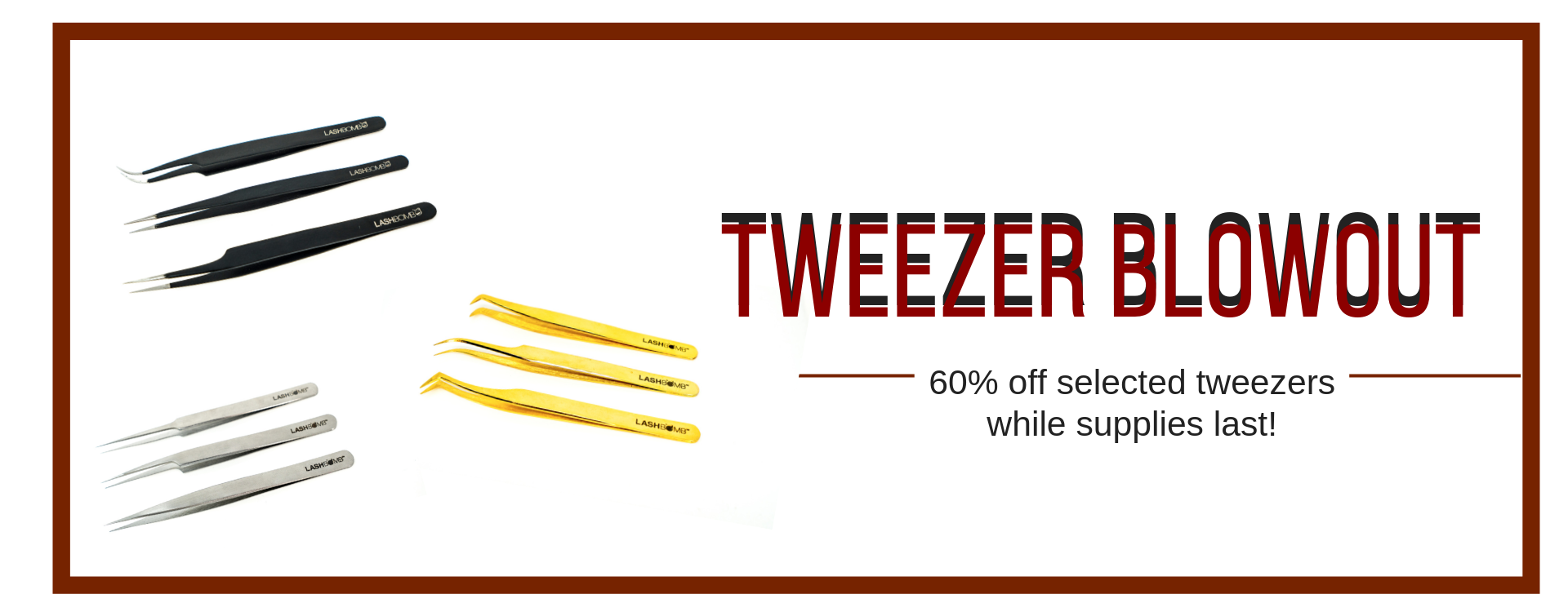 tweezer blow out