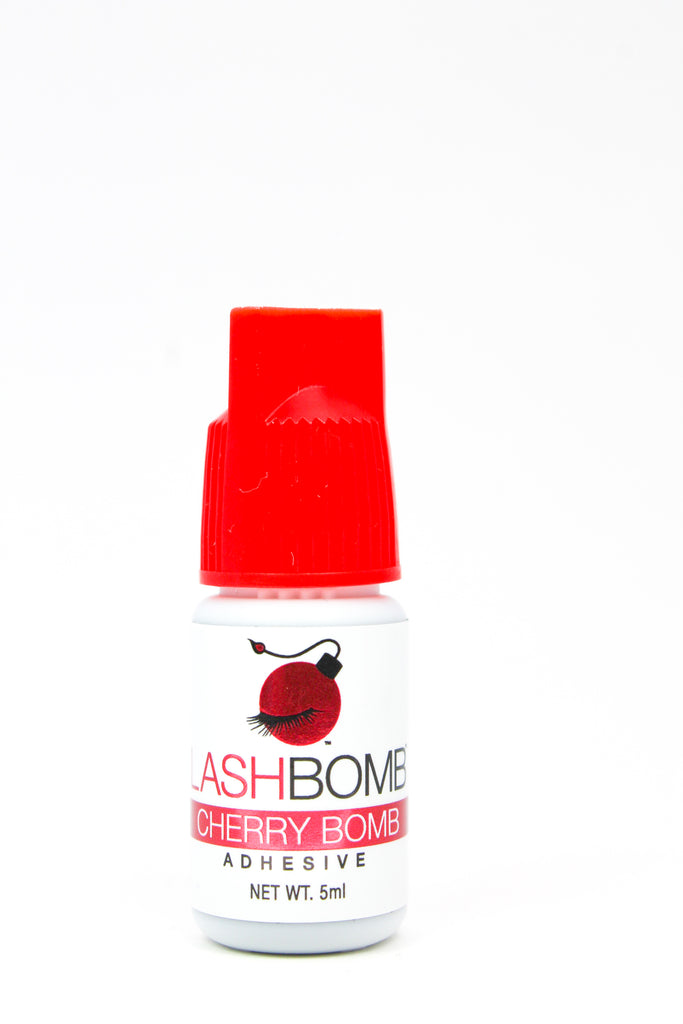 ADHESIVE - CHERRY BOMB RED CAP