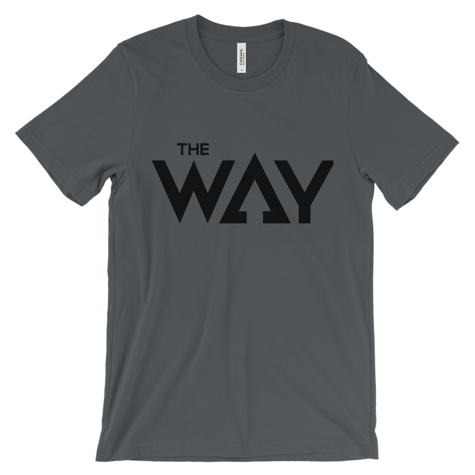 The Way Blk Letters Unisex short sleeve t-shirt