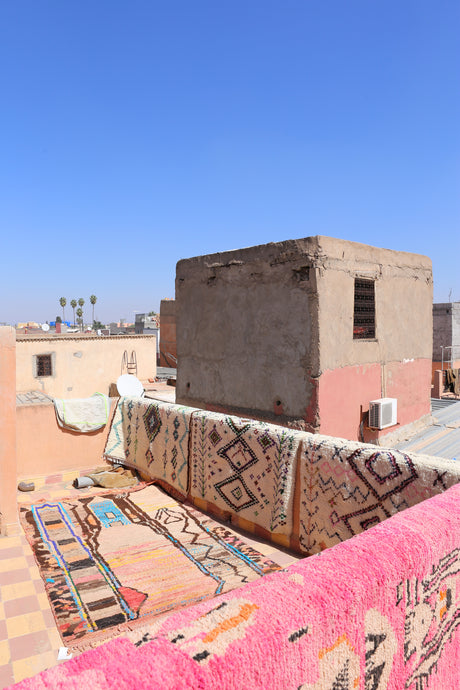Rooftops of Marrakech by Mary-Ellen Hinton