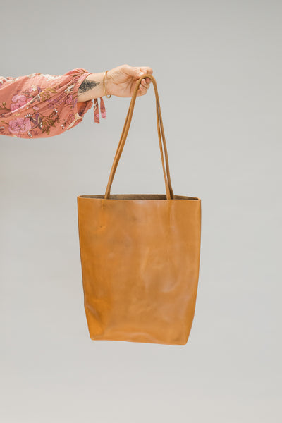 Bohzali Leather Tote