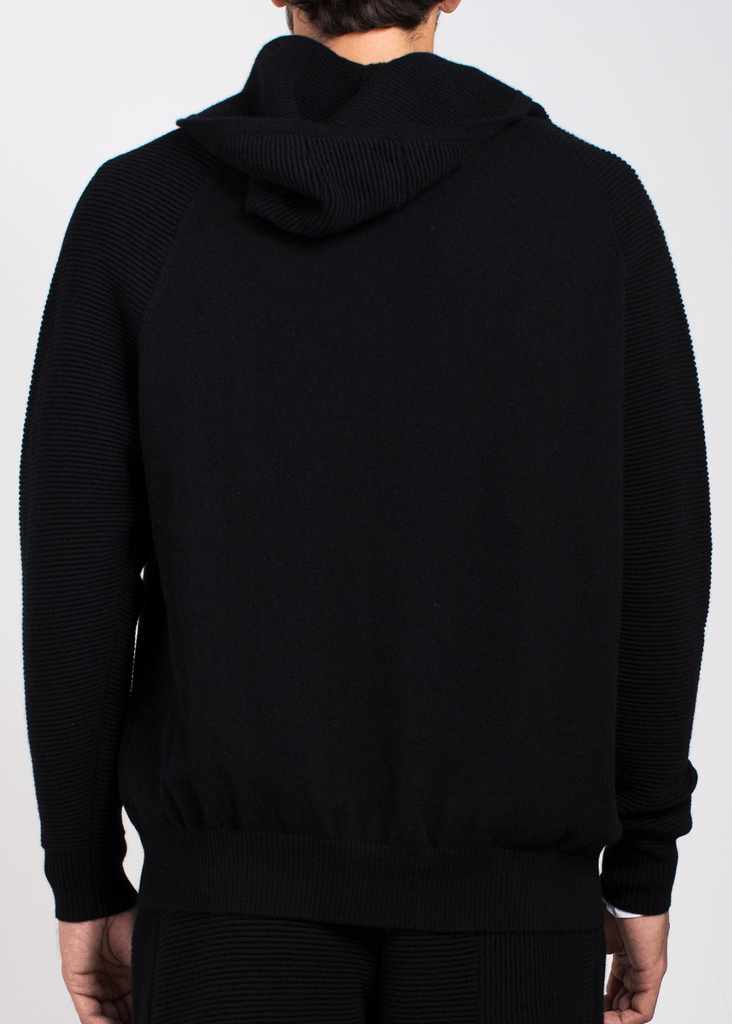 Cashmere Zip-Up Hoodie  Sweaters - Arcady