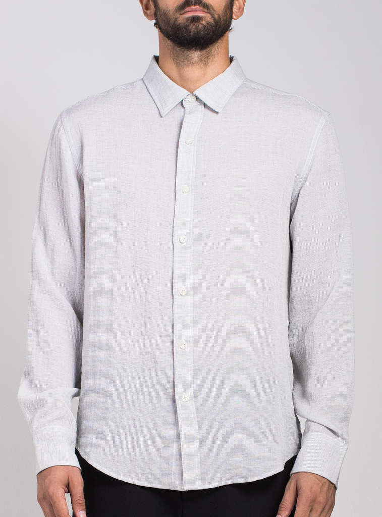 Standard Mini Pinstripe Button Down  Shirts - Arcady