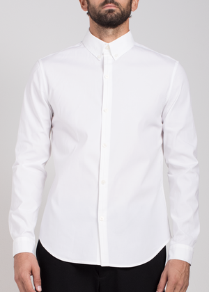 Elevated Woven Button Down