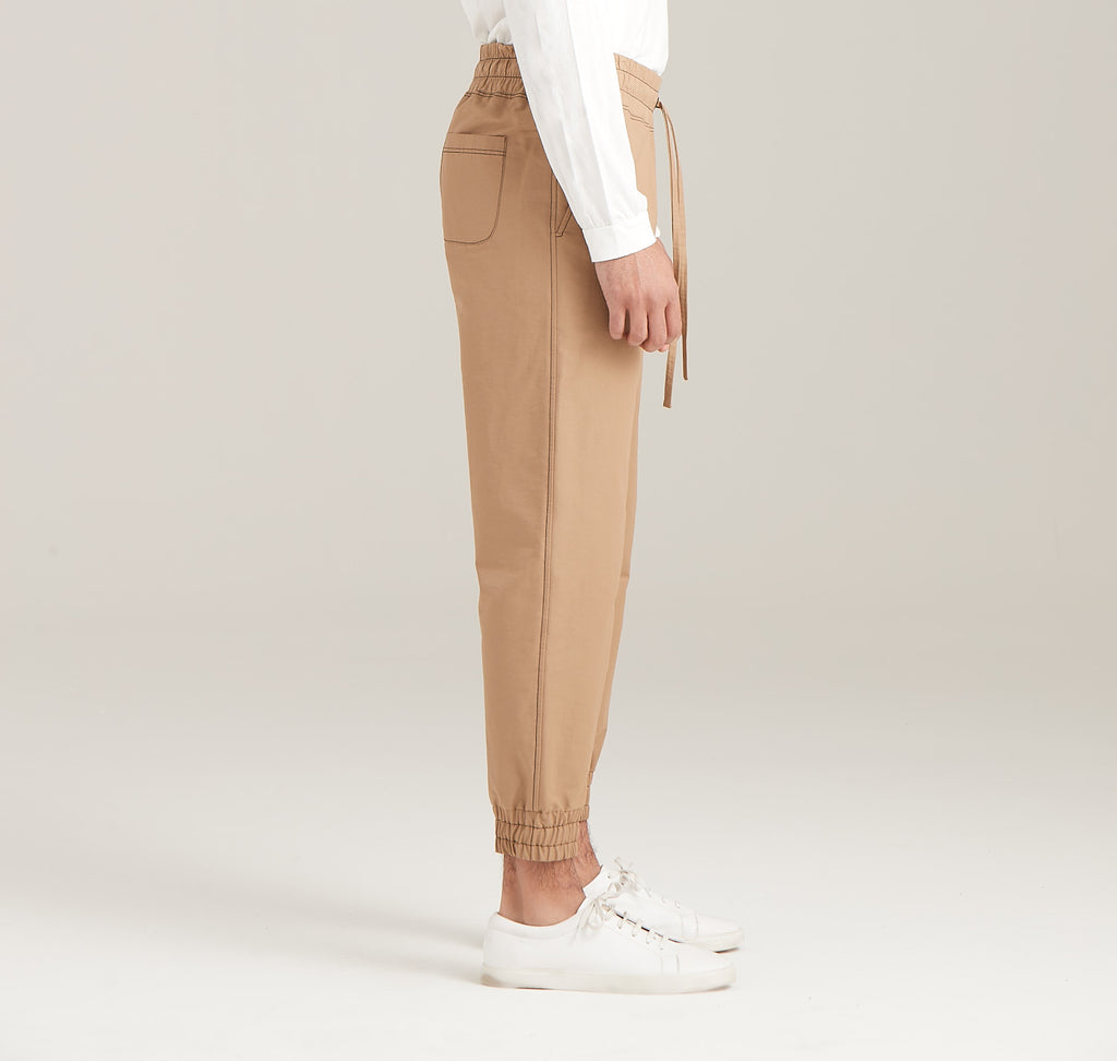 Tapered Woven Trouser  Bottoms - Arcady