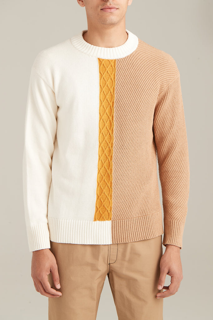 Cable Knit Sweater  Sweaters - Arcady