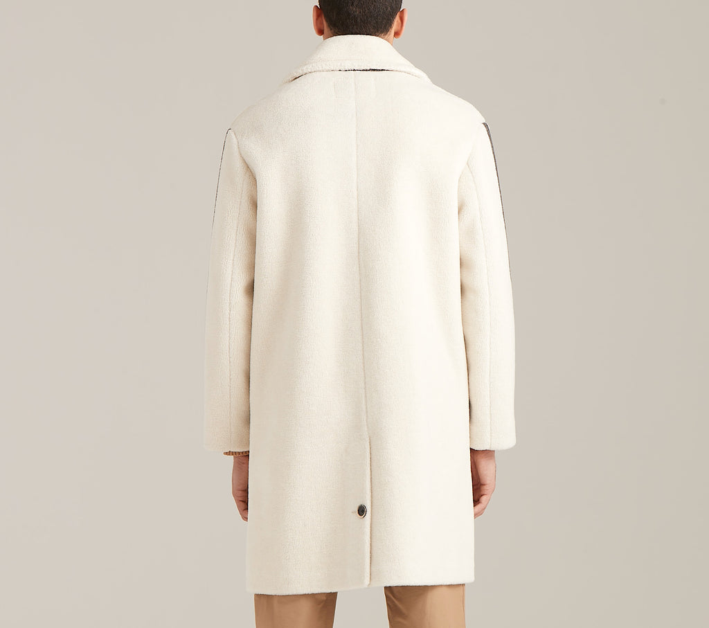 Faux Shearling Overcoat  Outerwear - Arcady