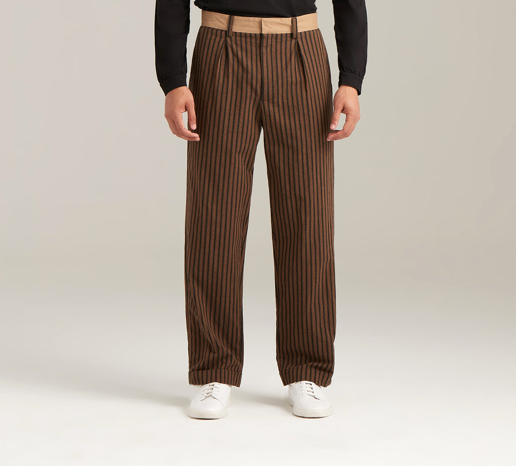 Striped Pant  Bottoms - Arcady