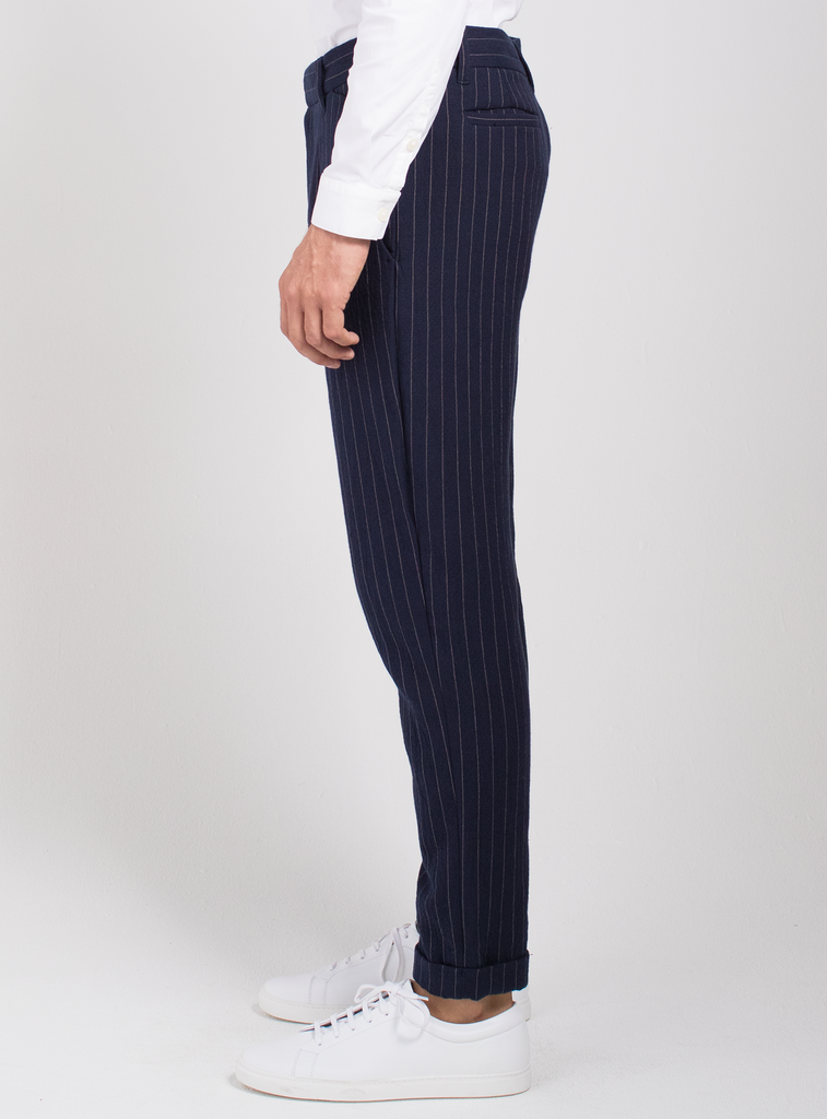 Downtown Pinstripe Trouser  Bottoms - Arcady