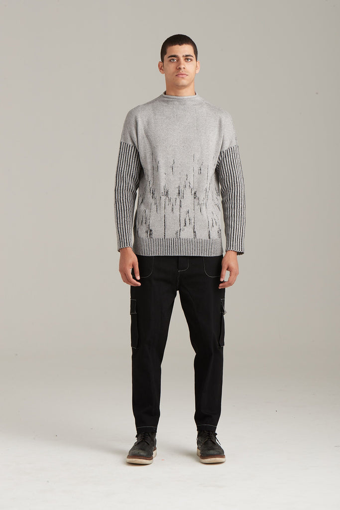 New Style Intarsia Sweater  Sweaters - Arcady