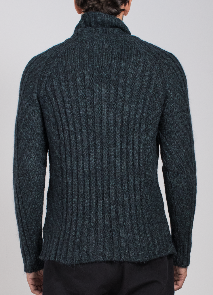 Mohair Roll Neck Sweater  Sweaters - Arcady