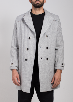 Sparta Overcoat  Outerwear - Arcady