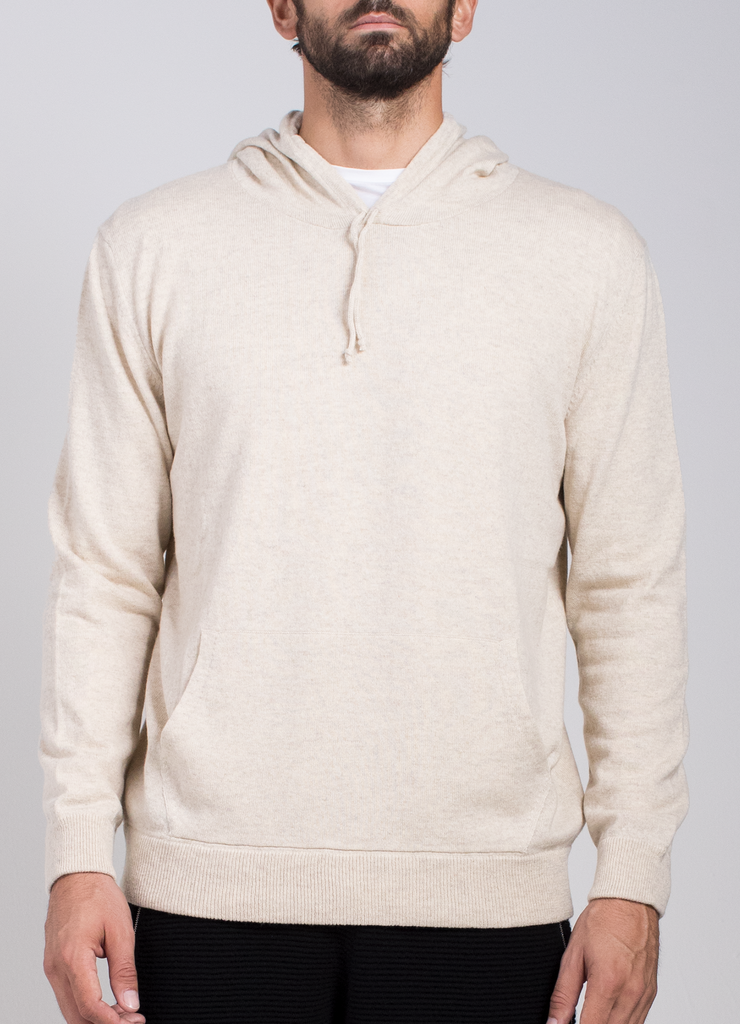 Technical Cashmere Hoodie  Sweaters - Arcady