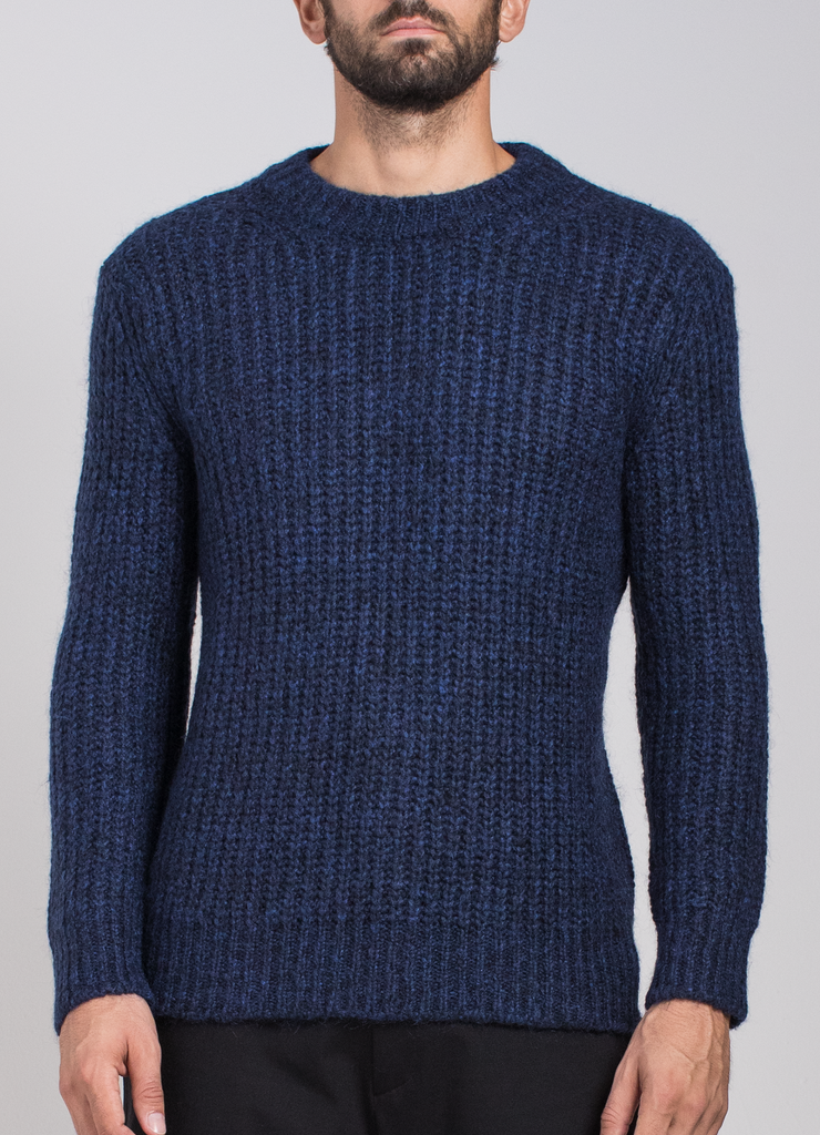 Mohair Crew Neck Sweater  Sweaters - Arcady