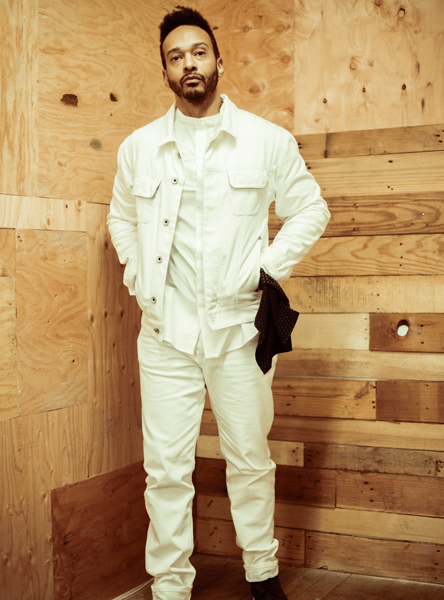 White Selvedge Straight-Leg Denim Jean  Bottoms - Arcady
