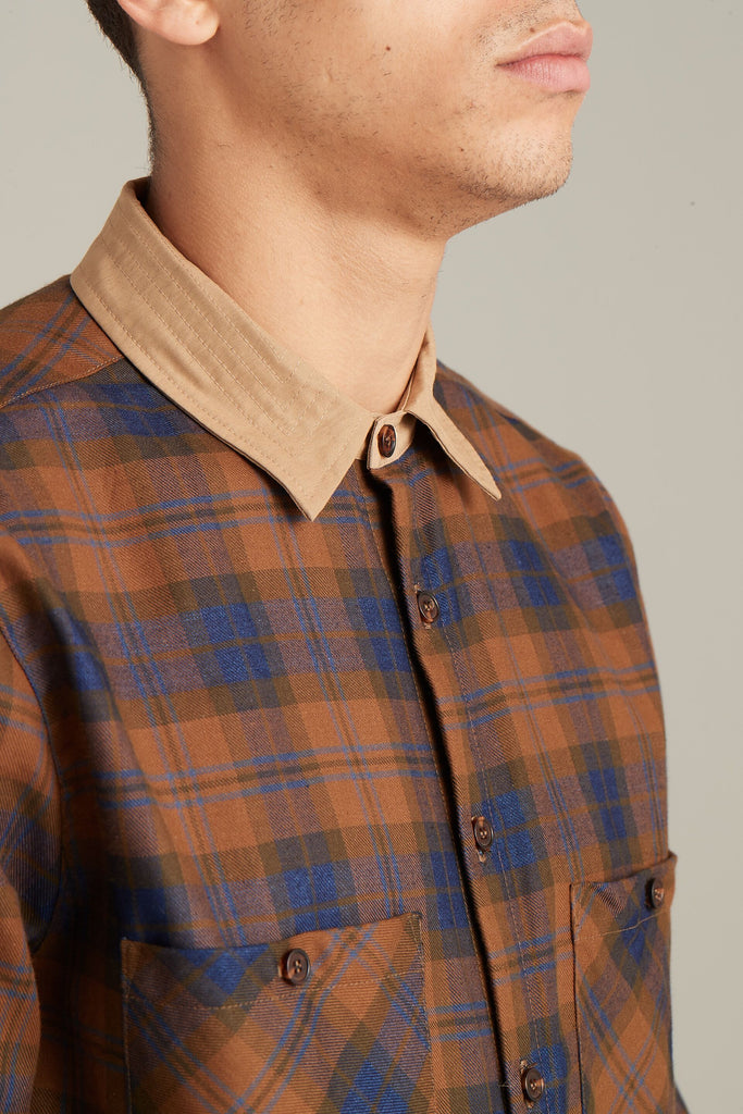 Utility Plaid Shirt  Shirts - Arcady