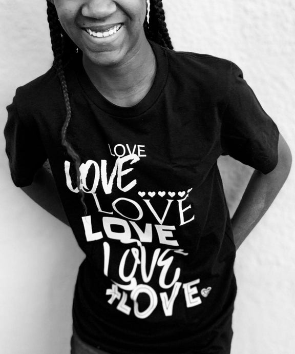 Lots of LOVE Girl's T-Shirt