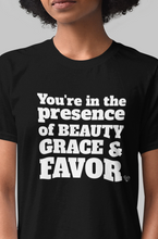 Load image into Gallery viewer, Beauty, Grace and Favor Women's T-Shirt