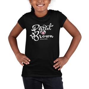 Perfect Brown kids t-shirt
