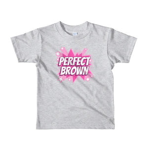 Perfect Brown Hero kids t-shirt
