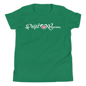 Perfect Brown (signature) Girls T-Shirt