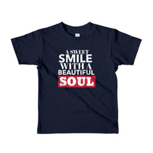 Load image into Gallery viewer, A Sweet Smile kids t-shirt
