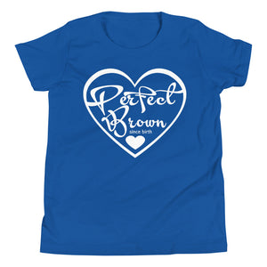 Perfect Brown Logo Girls T-Shirt