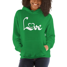 Load image into Gallery viewer, Love Hoodie (two sided)