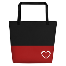 Load image into Gallery viewer, Logo Red & Black Bag