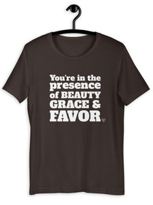 Beauty, Grace and Favor Women's T-Shirt