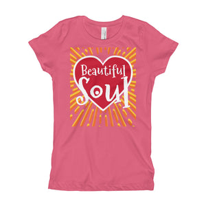 Beautiful Soul Girl's (Princess Style) T-Shirt