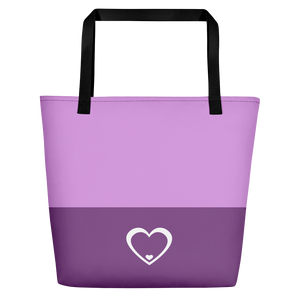 Logo Purple & White Bag