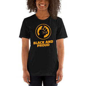Black and Proud Unisex T-Shirt