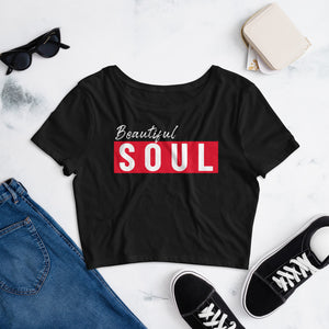 Beautiful SOUL Girl's Crop Tee