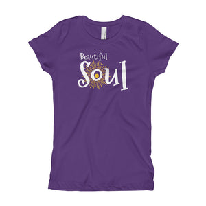 Beautiful Soul Girl's (Slim fit) T-Shirt
