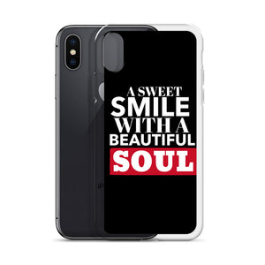 A Sweet Smile iPhone Case (Blk)