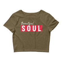 Load image into Gallery viewer, Beautiful SOUL Girl's Crop Tee