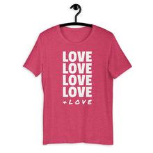 Load image into Gallery viewer, LOVE LOVE LOVE Tee Women's T-Shirt