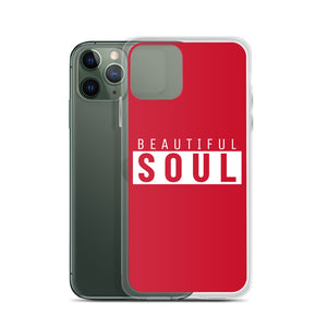 Beautiful Soul v2 iPhone Case (Red)