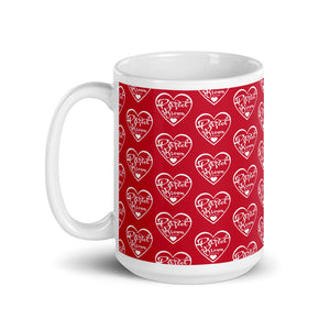 I am Perfect Brown Red Logo (Infinity) Mug