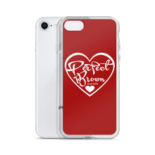 Load image into Gallery viewer, Perfect Brown Logo iPhone Case (Red)