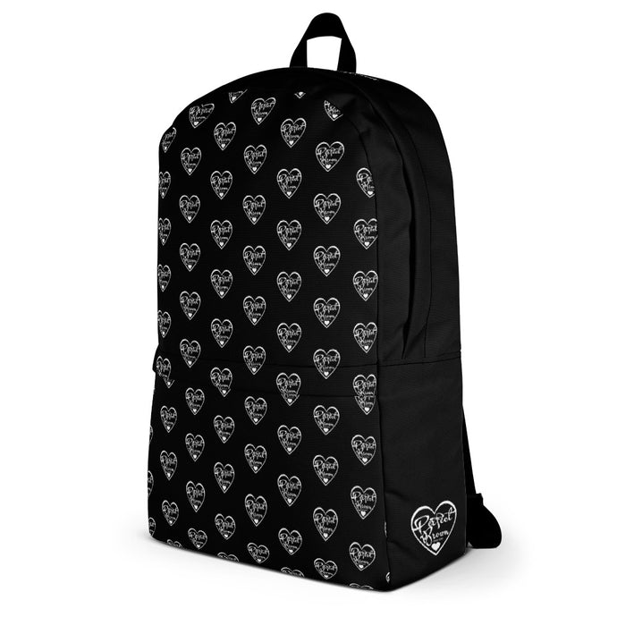 Perfect Brown Infinty Logo Backpack