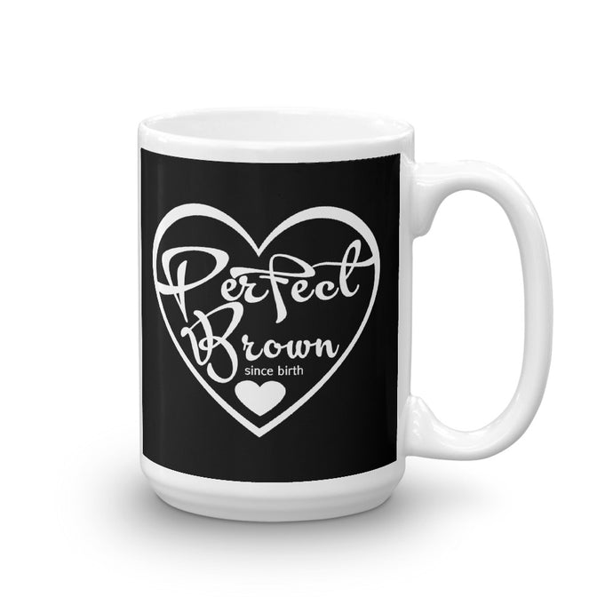 Perfect Brown Logo Mug