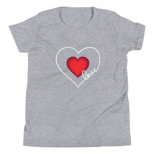 Load image into Gallery viewer, Heart & Love Girls T-Shirt