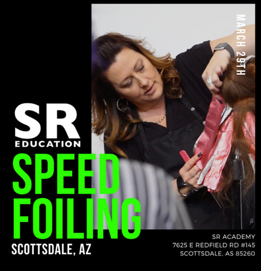 highlight and color class speed foiling and placement with sally rogerson in scottsdale