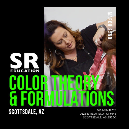 advanced hair color theory and formulation class in scottsdale arizona